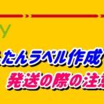 【ebay輸出】DHLでかんたんにラベル作成する方法と発送する際の注意点を徹底解説